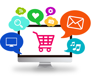 E-commerce website designing in Core Php, Magento, Wordpress & Opencart